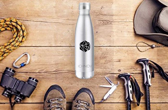 Bottiglia in alluminio per bici